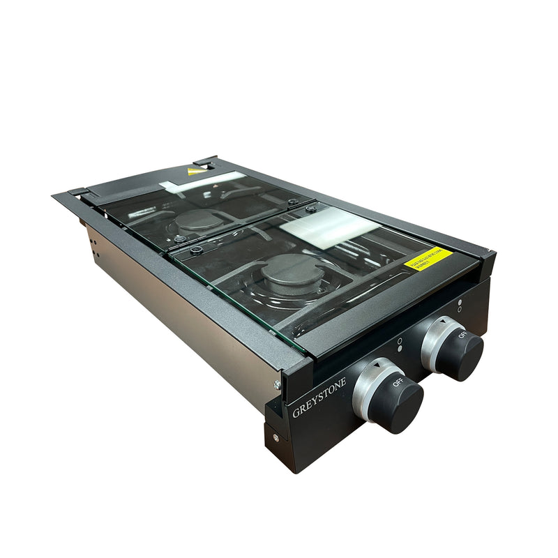Premium Double Burner Gas Cooktop