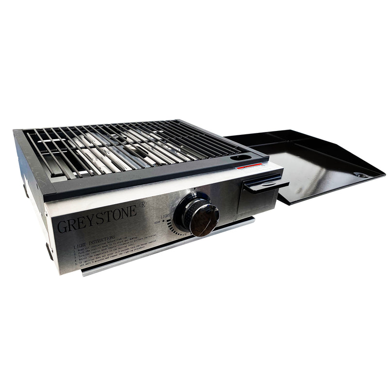 17 Inch Combination Griddle and Grill