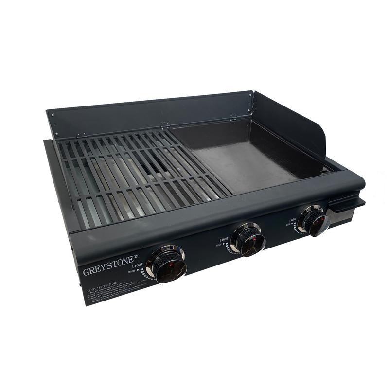 25 Inch Combination Griddle and Grill