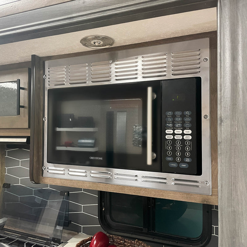 1.3 Cubic Foot Built-in Convection Microwave, Stainless Steel