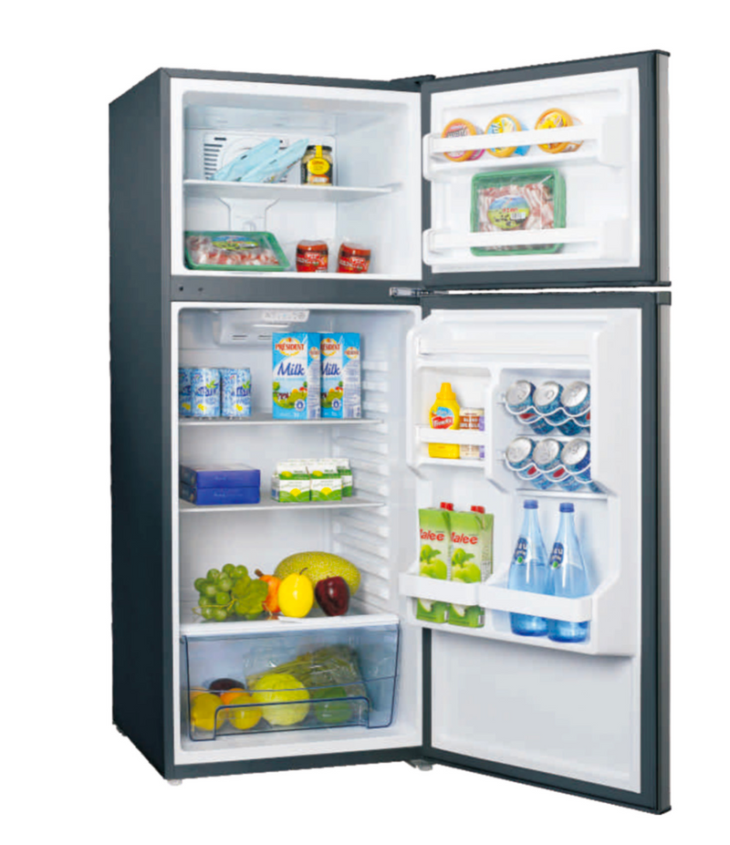 11 Cubic Foot 12 Volt Refrigerator, Stainless Steel