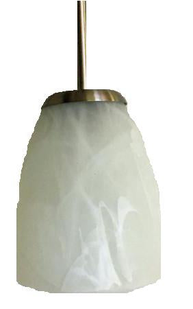 Globe pendant light Alabaster