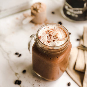 Protein Iced Cappuccino (7 ingredients)
