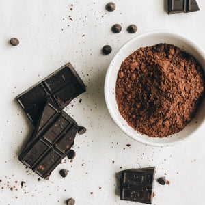 dark chocolate in daily routine