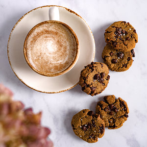 Soft Fleur de sel chocolate chip cookies