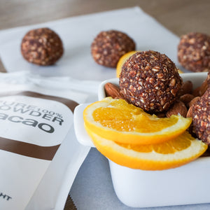 CACAO & ORANGE ENERGY BALLS