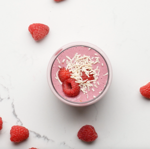 Plant-Based Berry Oatmeal Smoothie