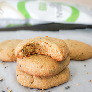 Sesame-Maple Cookies (Vegan + Gluten Free)