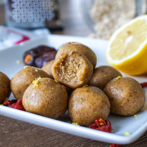 GOJI-LEMON BLISS BALLS