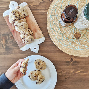 Vegan & Healthy Banana Cookies