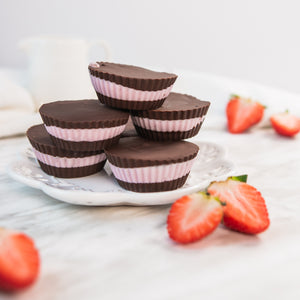 Açai Coconut Cream Chocolate Cups