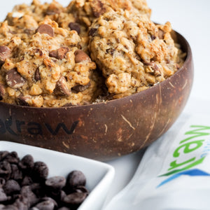 OATMEAL CHOCOLATE CHIPS COOKIES (VEGAN)