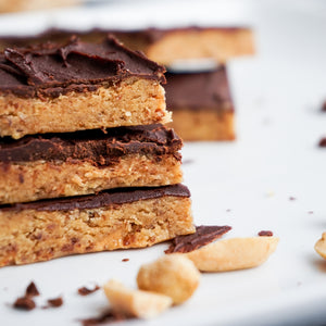 Peanut Maple Cookie Dough Bar (Grain-free)