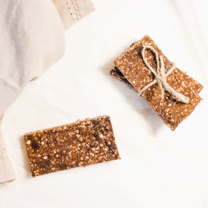 Reese's Protein Bars (No Bake + Quick)
