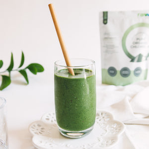 Simple Chlorella Green Smoothie