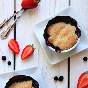 BLUEBERRY COBBLER (READY IN 45 MINUTES)