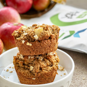 Chunky Apple Caramel Muffin