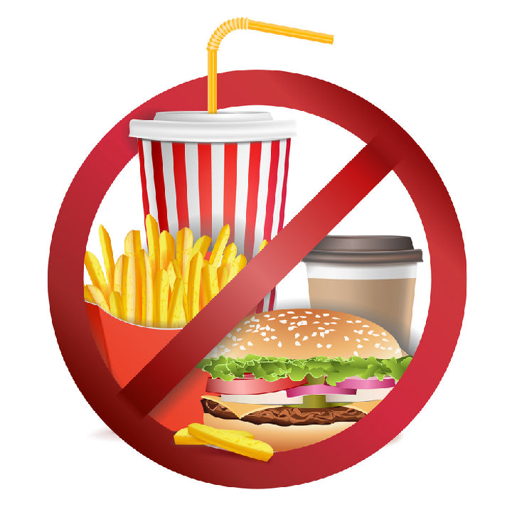 Avoid Processed and Refined foods