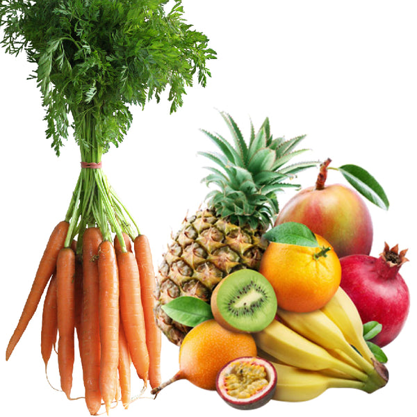 Carrot and Fruits