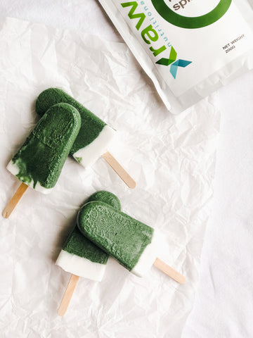 superfoods popsicles