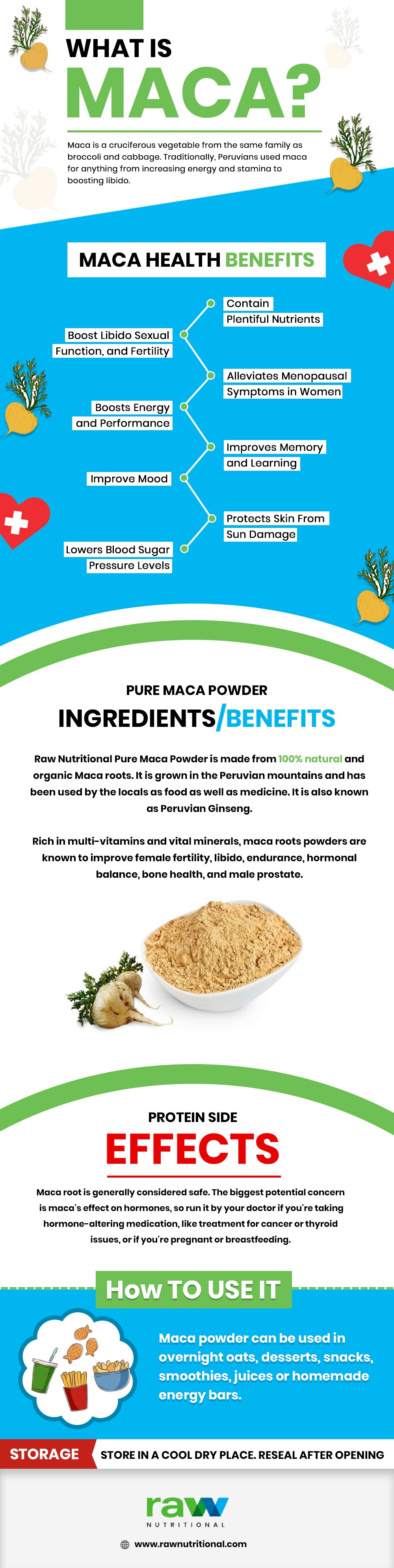 Maca Root Powder Benefits