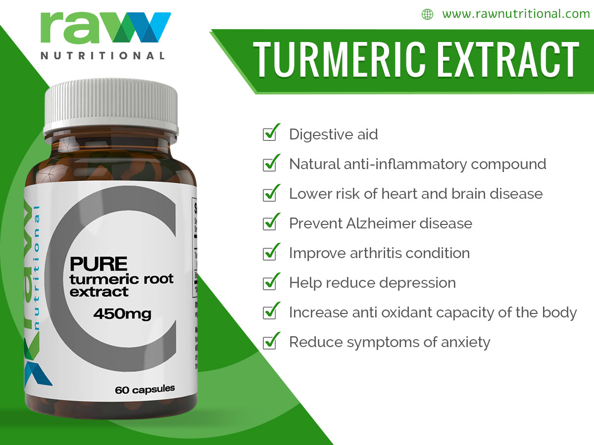 Pure Turmeric Root Extract Powder