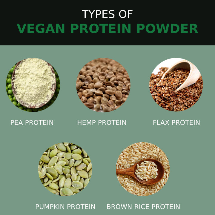 Types of Vegan Protein Powder