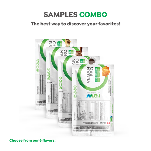 Vegan Pro Samples - 4 Units