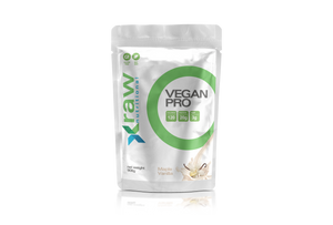 Vegan Pro Pea Protein Powder Pouch Front View