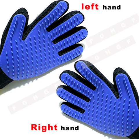 True Touch Deshedding Brush Glove Pet Gentle Efficient Massage