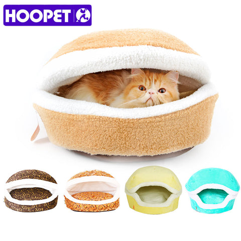Burger Bun Shaped pet bed