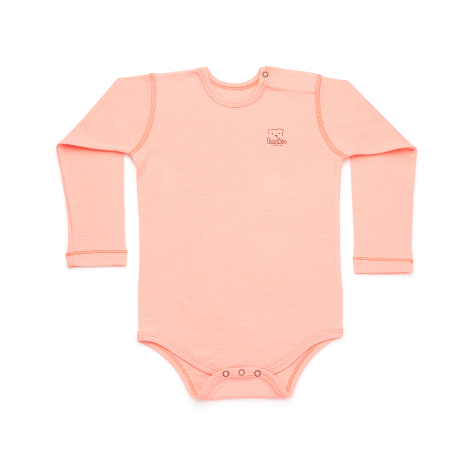 Body long sleeve merino wool - Laska Kidswear