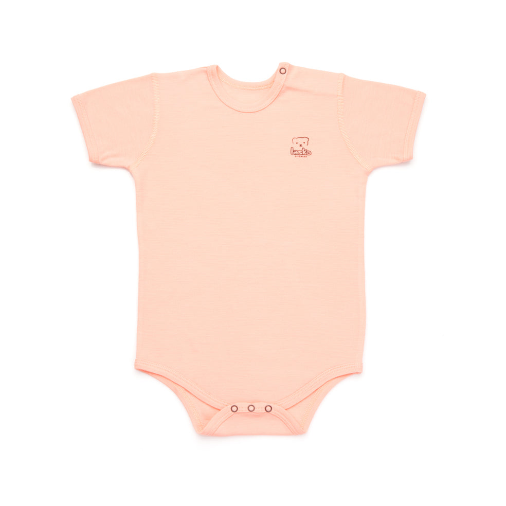 Body short sleeve merino wool - Laska Kidswear