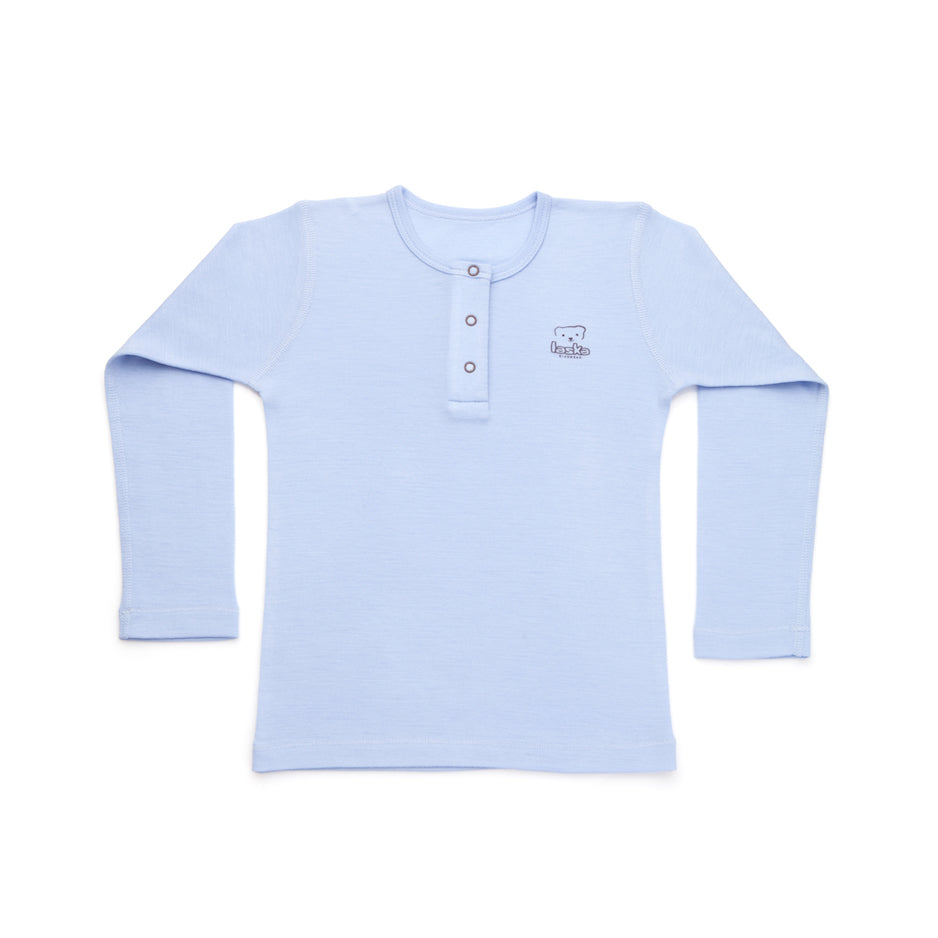 T-shirt long sleeve merino wool - Laska Kidswear