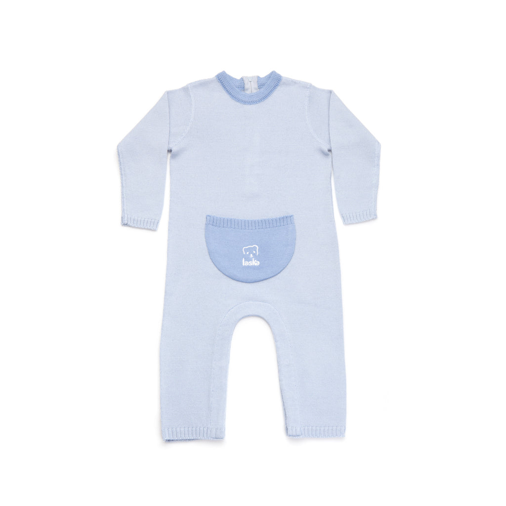 Knitted Overall one color - Laska Kidswear