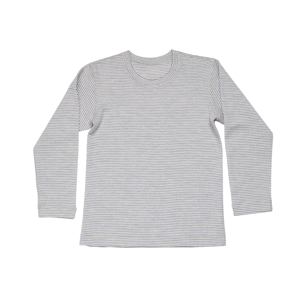 T-shirt basic stripes long sleeve - Laska Kidswear