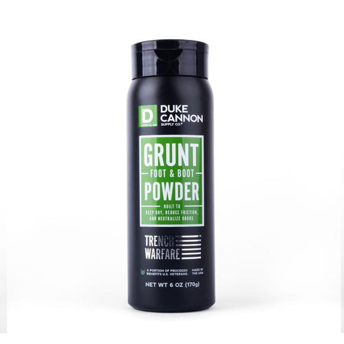 Duke Cannon Supply Co.- Grunt Foot & Boot Powder