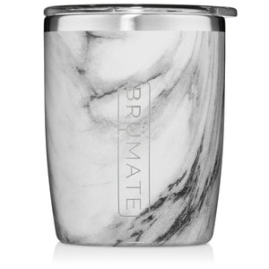 Brumate- Rocks Glass (Carrara)