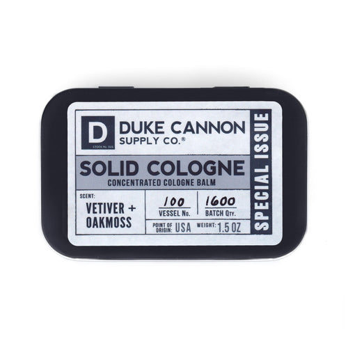 Duke Cannon Supply Co.- Solid Cologne (Special Issue) Vetiver + Oakmoss