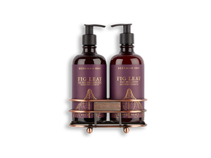 Beekman-FigLeaf Hand Care Duo Caddy Set