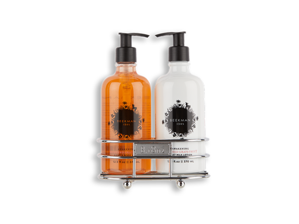 Beekman-Honeyed Grapefruit Hand Care Duo Caddy Set