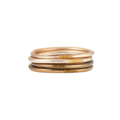 BuDhaGirl All Weather Bangles-Fawn