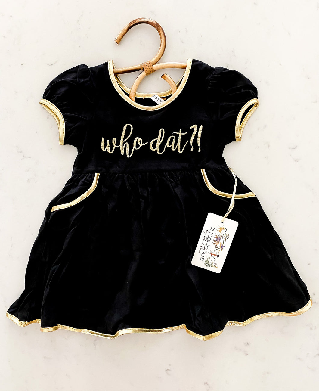 Chloe Dress (Who Dat?!)