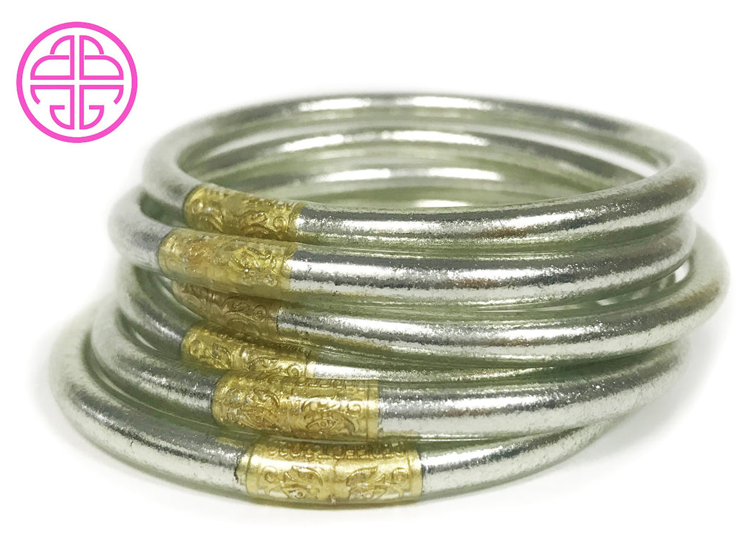 BuDhaGirl All Weather Bangles-Lumiere