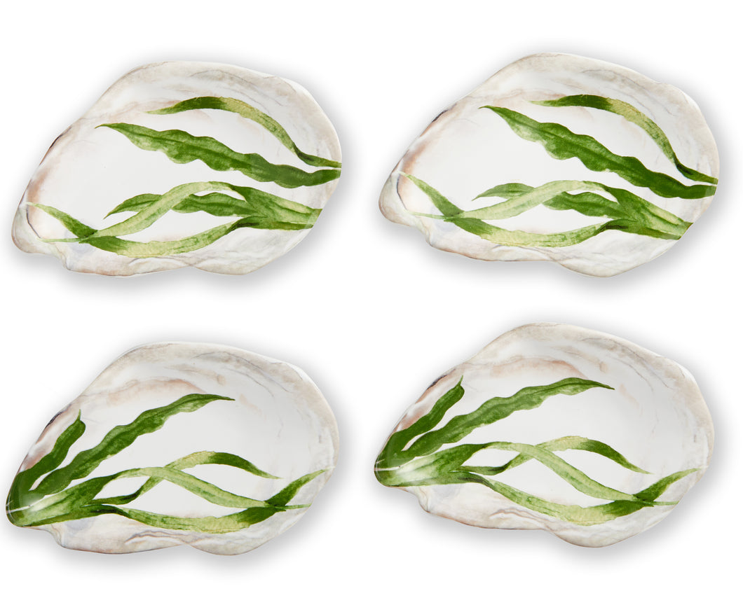 Seafood Collection- Oyster Plates (Set of 4)