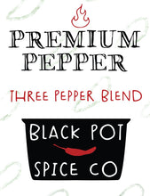 Black Pot Spice Co.- Premium Pepper