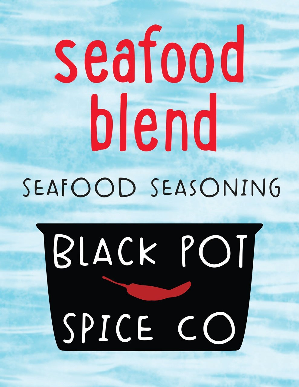 Black Pot Spice Co.- Seafood Blend