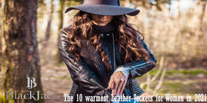 The 10 warmest Leather Jackets for Women in 2021
