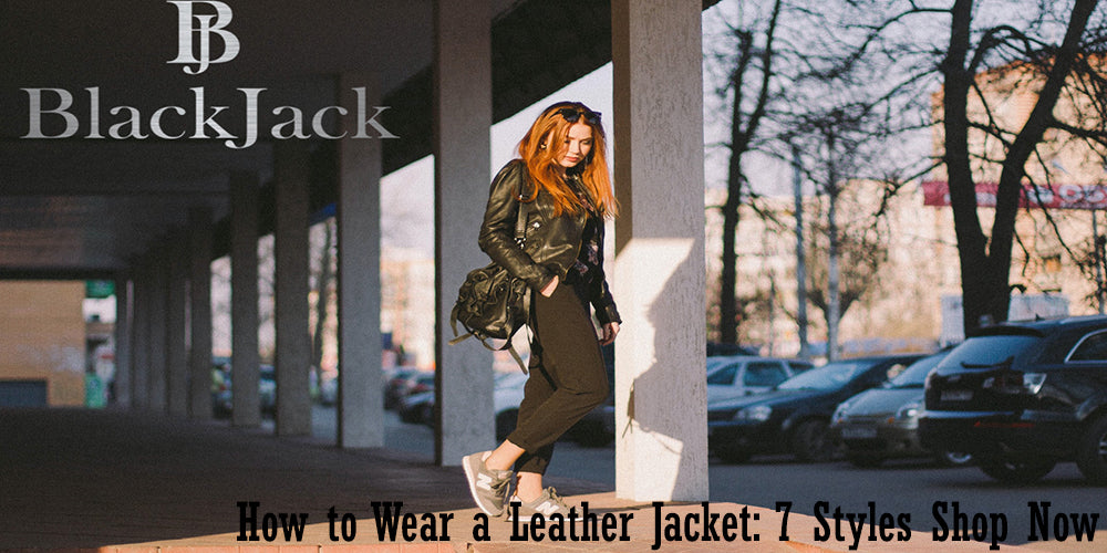 How to Wear a Leather Jacket: 7 Styles Shop Now