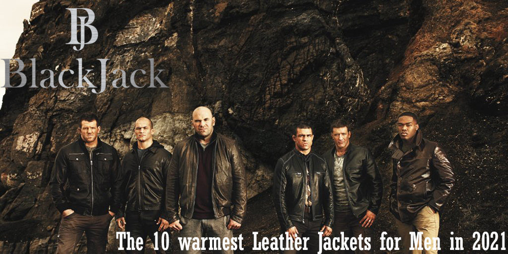 The 10 warmest Leather Jackets for Men in 2021